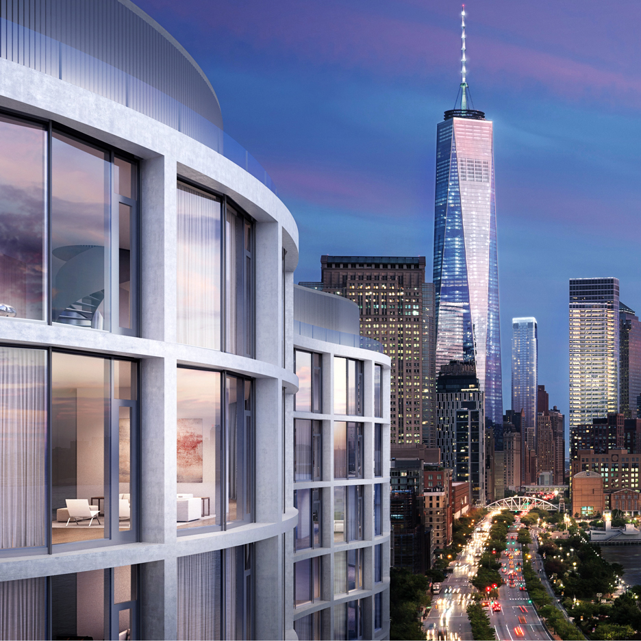 New images unveiled of Herzog & de Meuron's latest Manhattan condo building