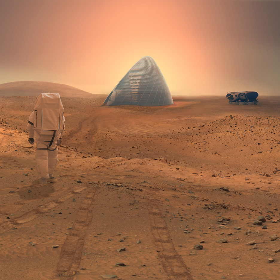 3D-printed Ice House by Clouds AO and SEArch wins NASA Mars Habitat contest
