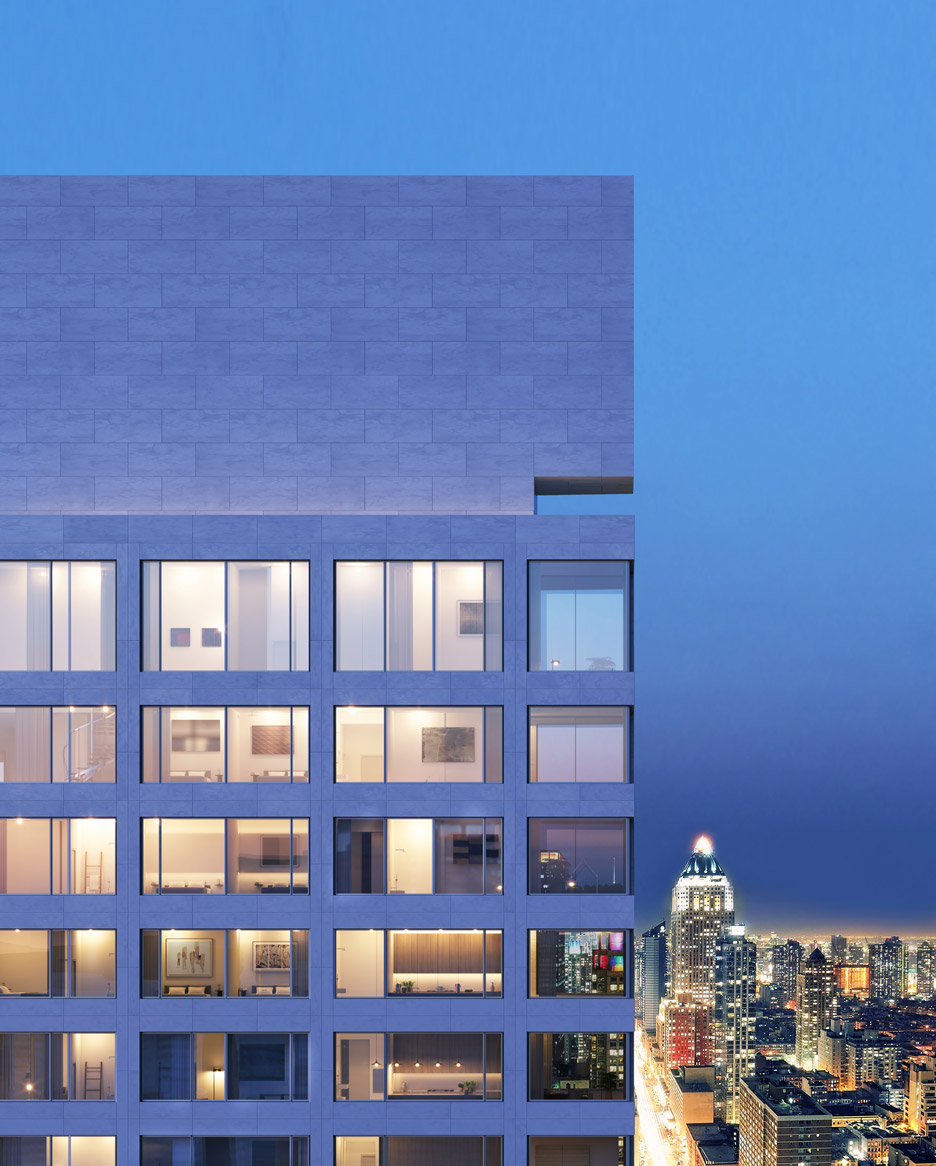 611 West 56th Street, New York by Álvaro Siza