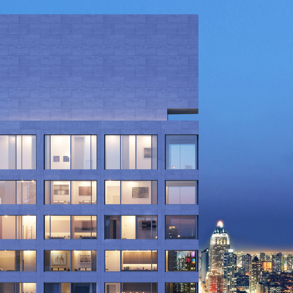 611 West 56th Street, New York by Álvaro Siza