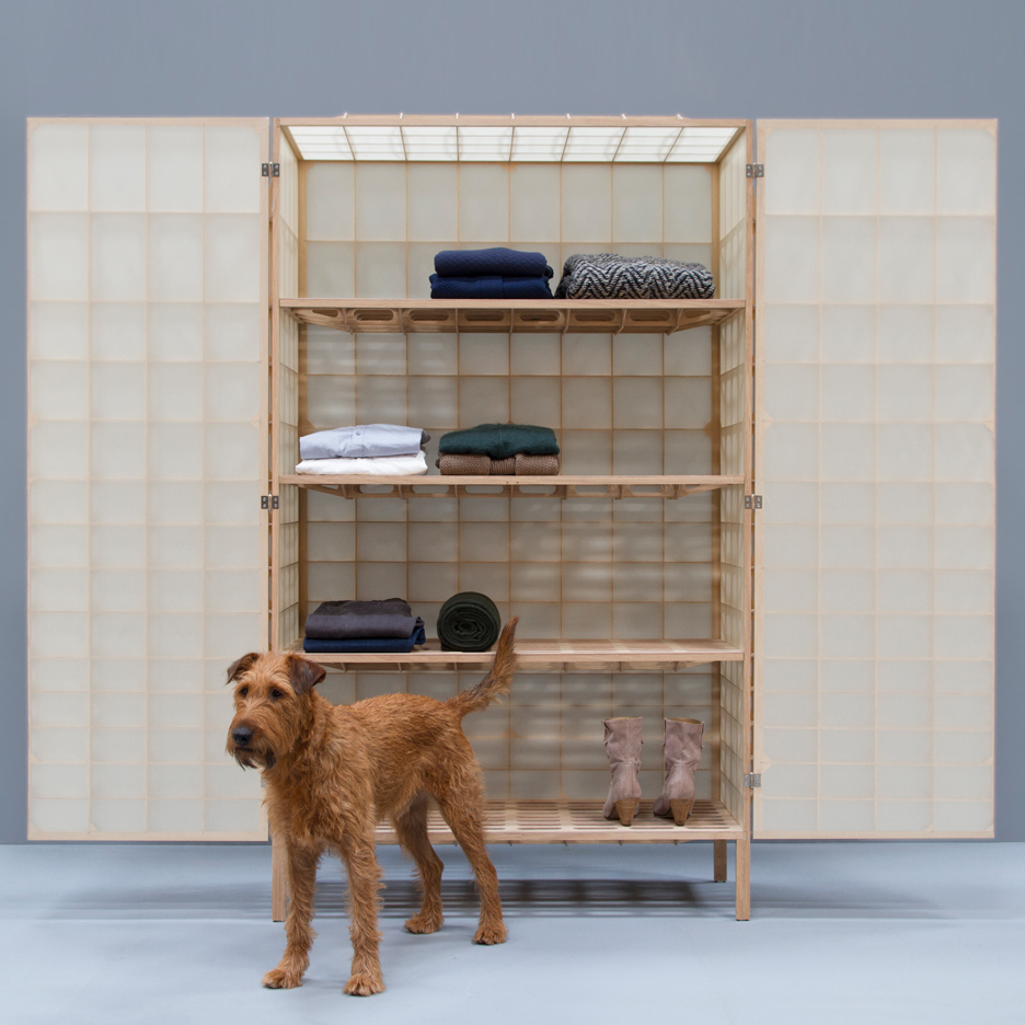 Mieke Meijer's Airframe 01 cabinet is based on early aeroplane design