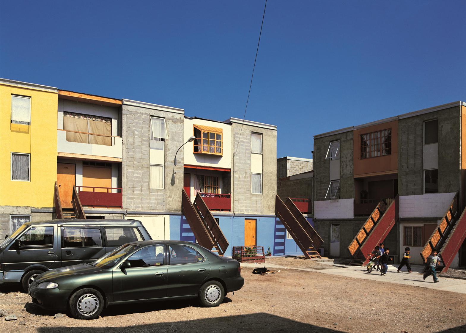 Quinta Monroy Housing, Iquique, 2004