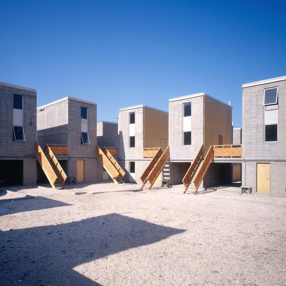 Quinta Monroy Housing, Iquique, 2004. Photograph by Cristobal Palma