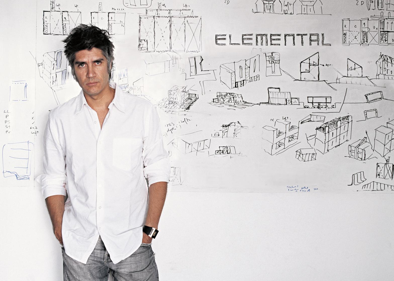 Alejandro Aravena. Portrait by Christobal Palma