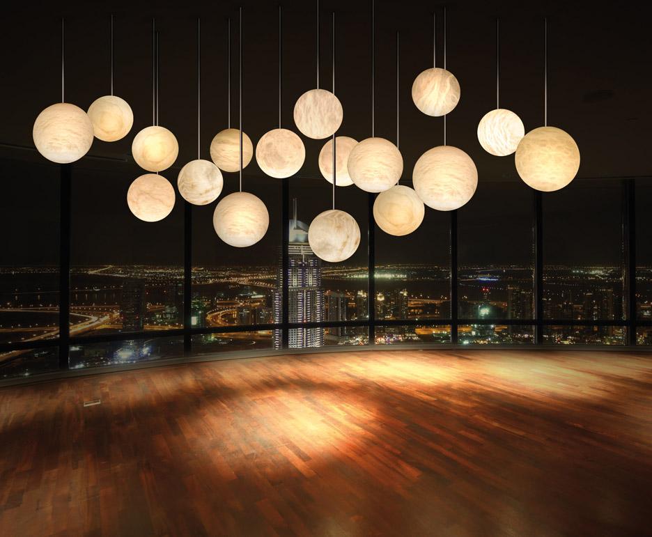 Luna Chandelier by Architect@Work exhibitor Atelier Alain Ellouz