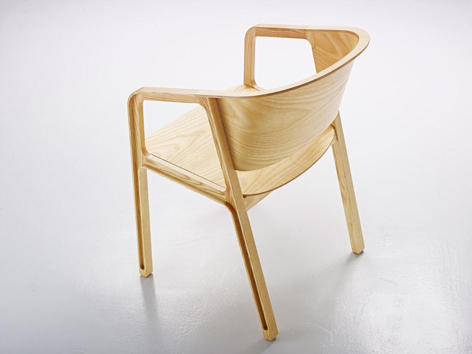 Beams Chair by EAJY