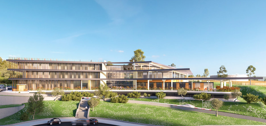 Ron Arad Architects unveil new scheme for cancer hospital in West Bank