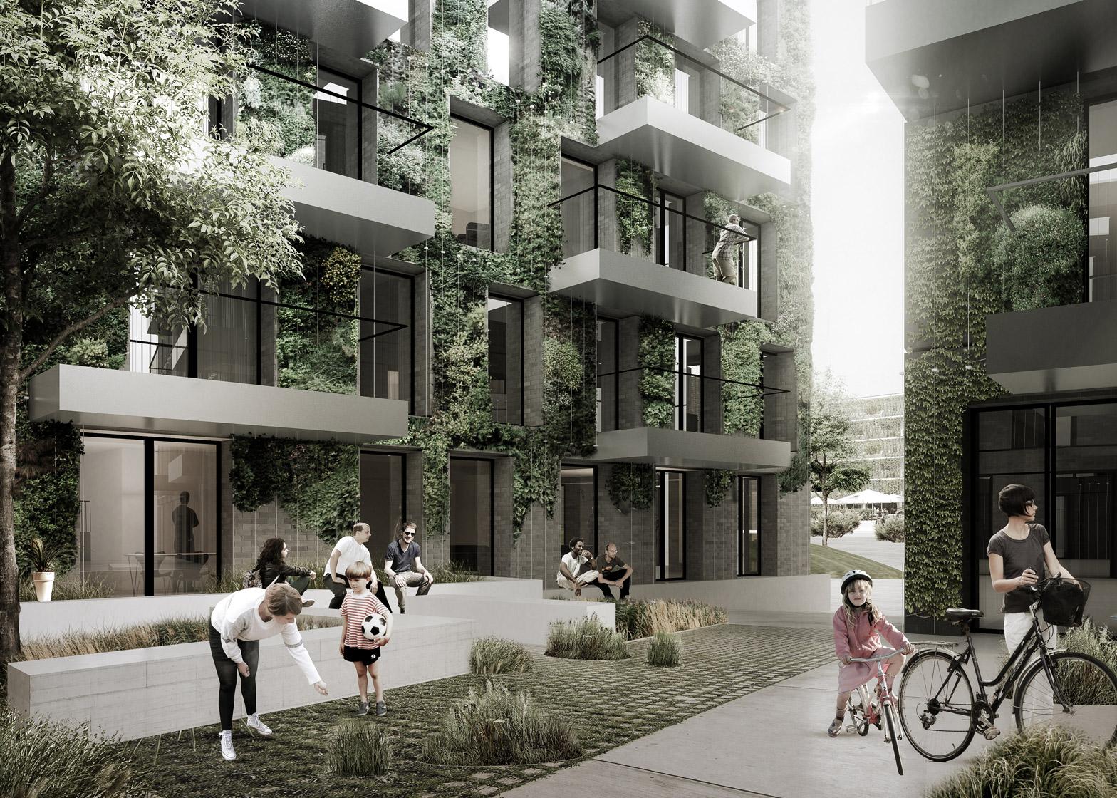 Bellakvarter development in Copenhagen