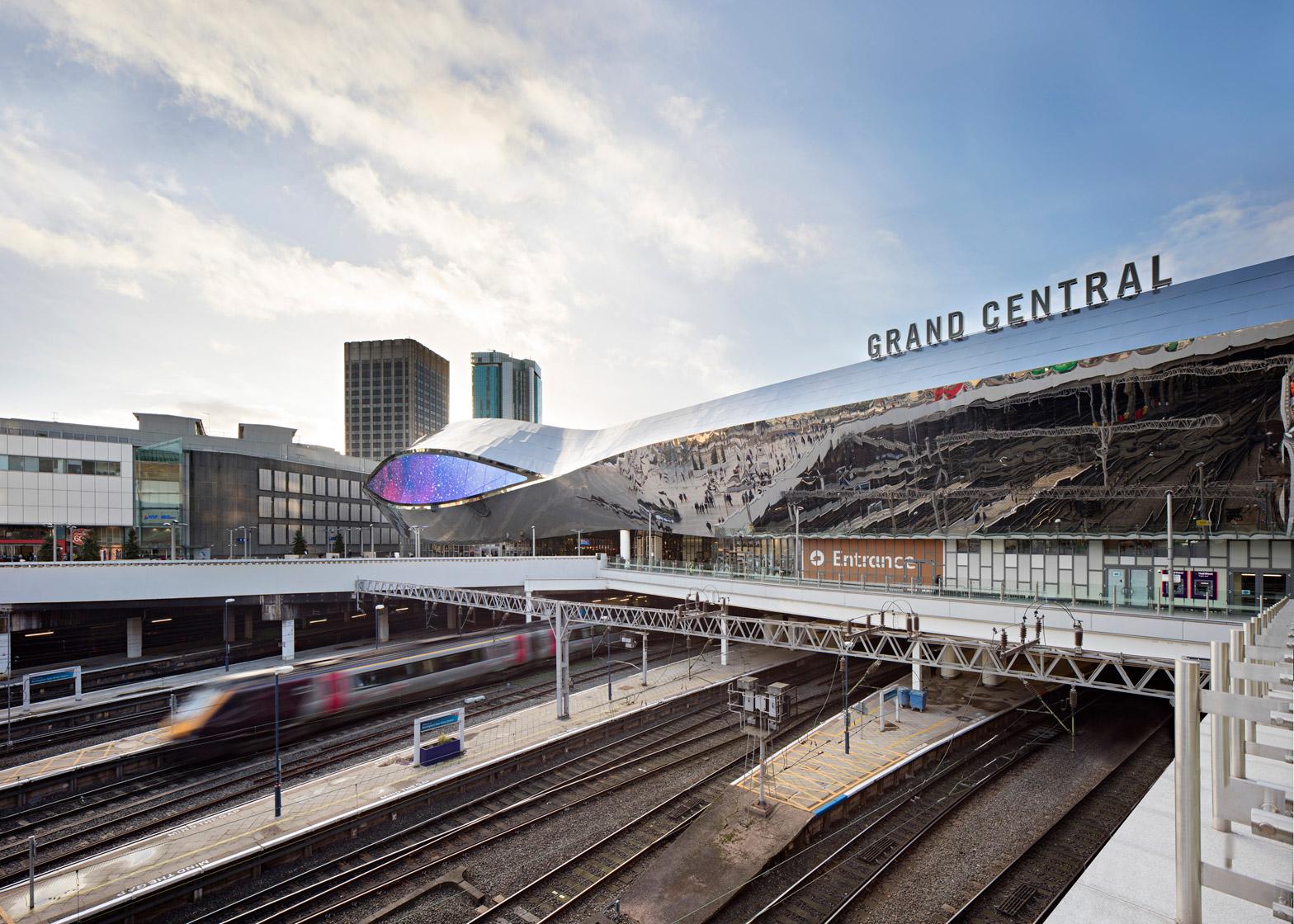 Birmingham New Street Station renovation by AZPML