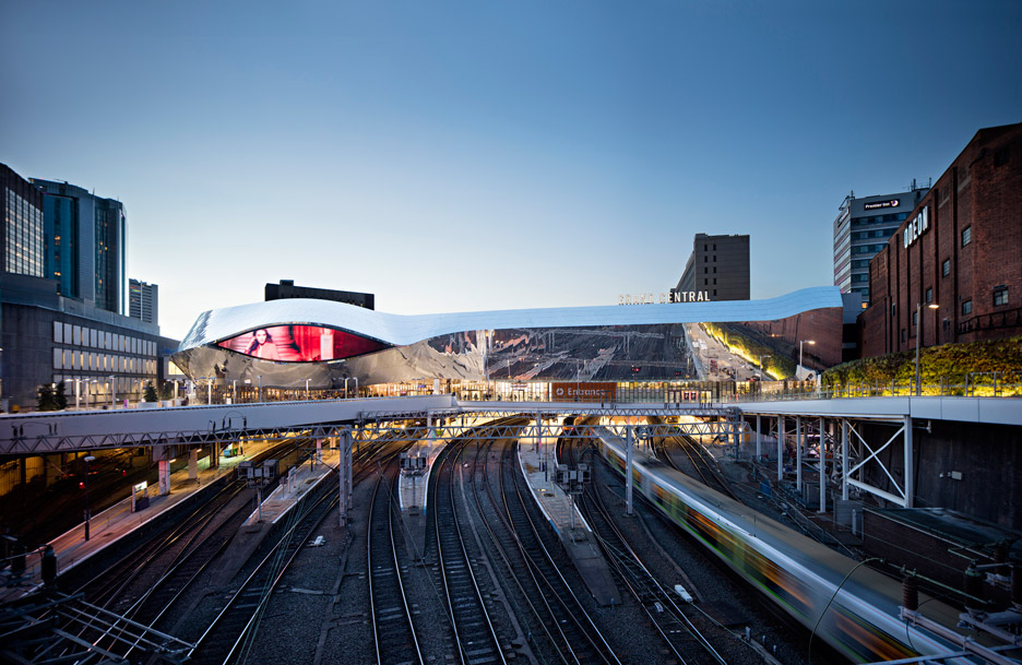 Birmingham New Street Station renovation by AZPML