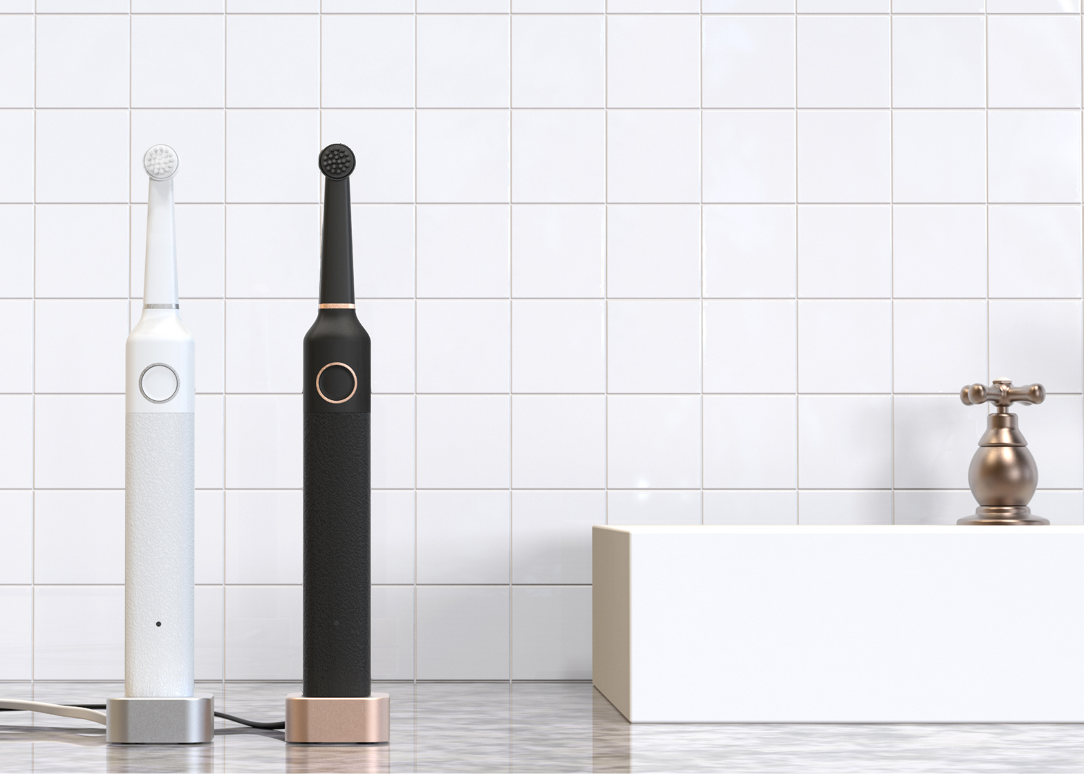 Electric toothbrush by Bruzzoni