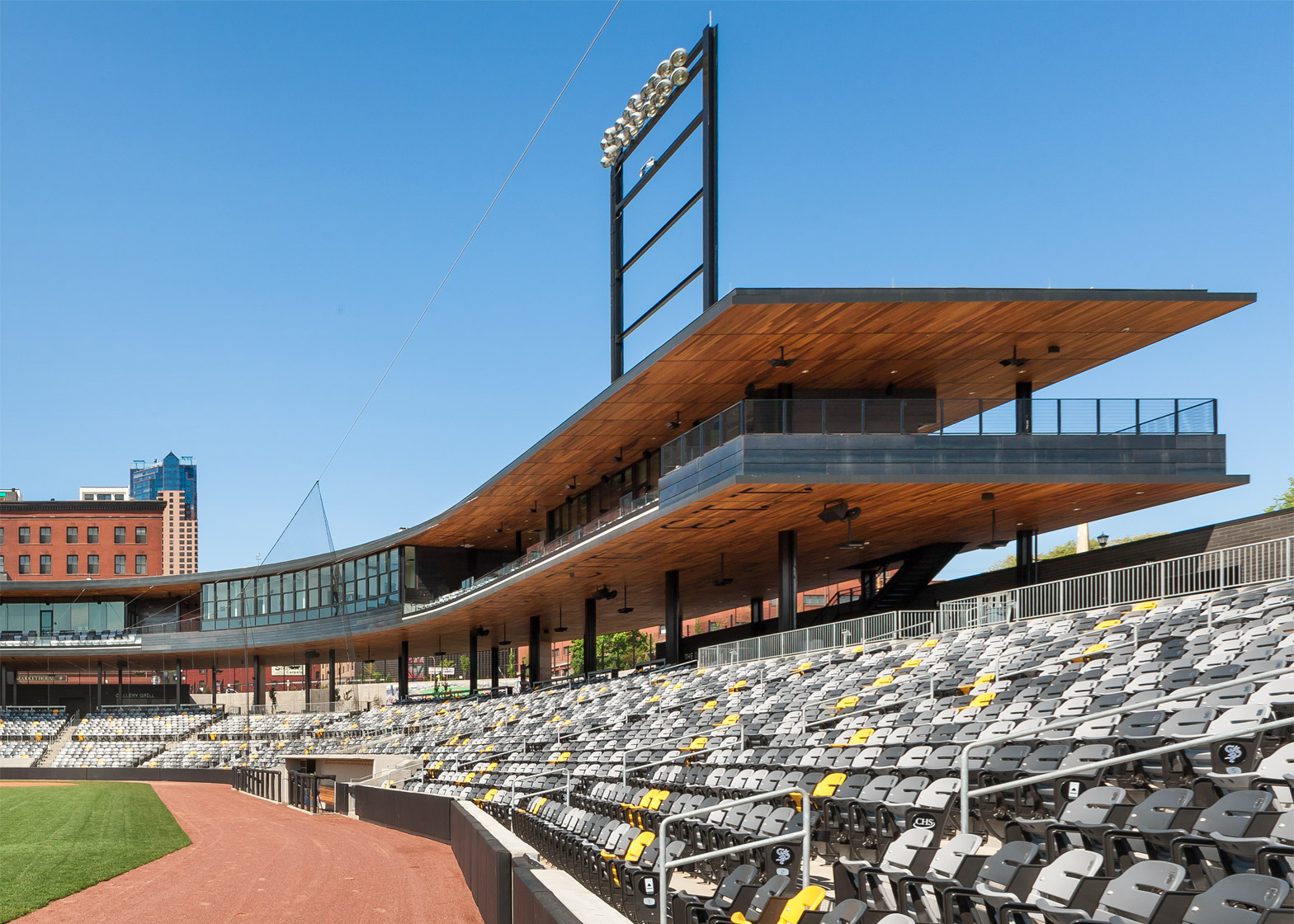 CHS Field; Saint Paul, Minnesota; by 