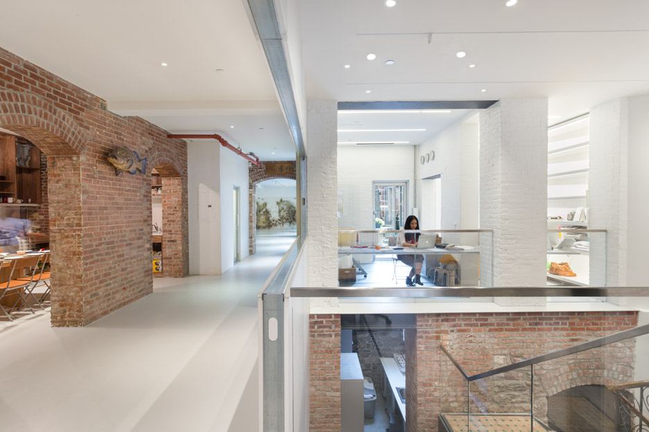 Cai Guo Qiang studio expansion by OMA in New York City, USA