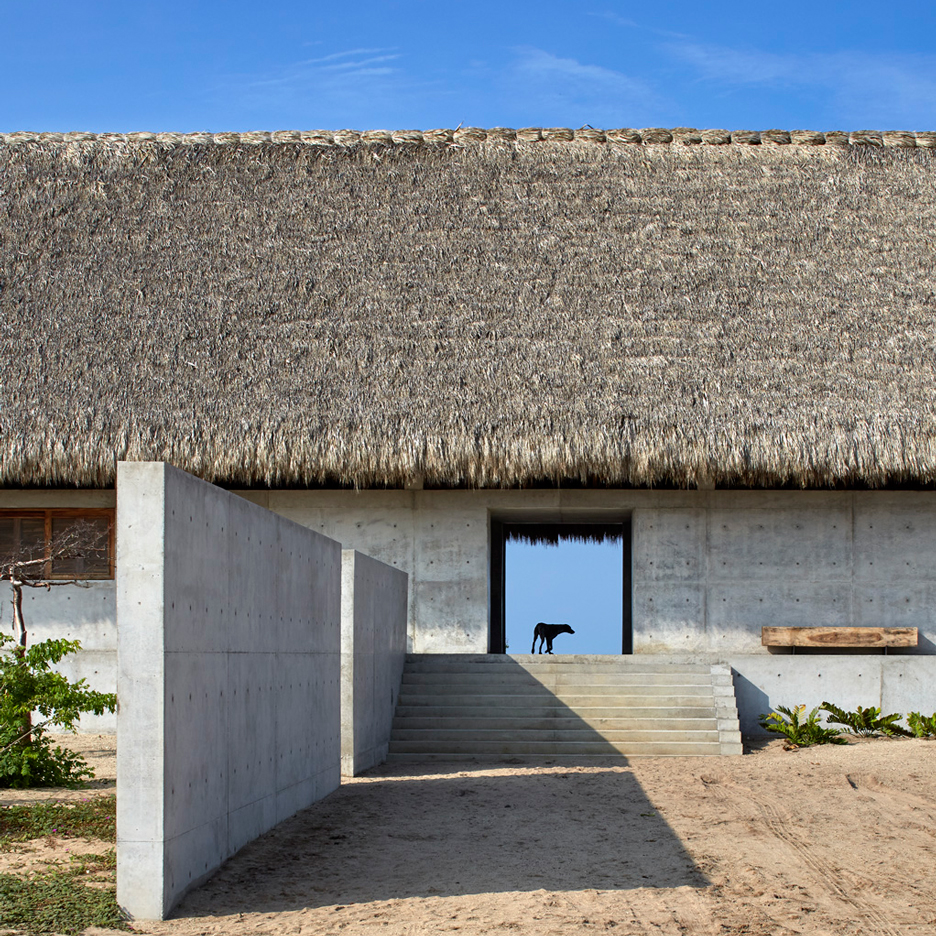 Tadao Ando's Casa Wabi is an artist's retreat that stretches along the Mexican coast