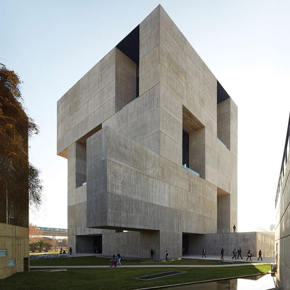 Centro Innovacion UC Anacleto Angelini by Alejandro Aravena
