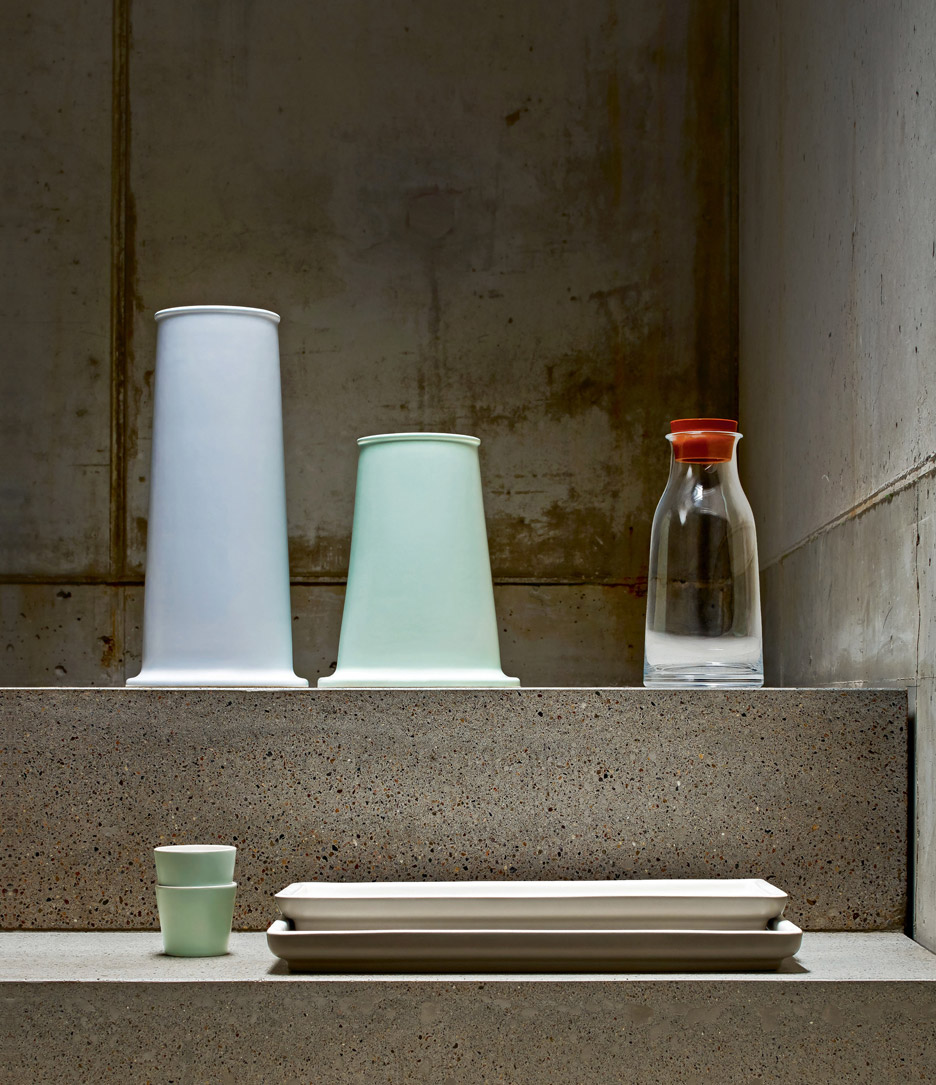 David Chipperfield ceramics for Alessi SS16