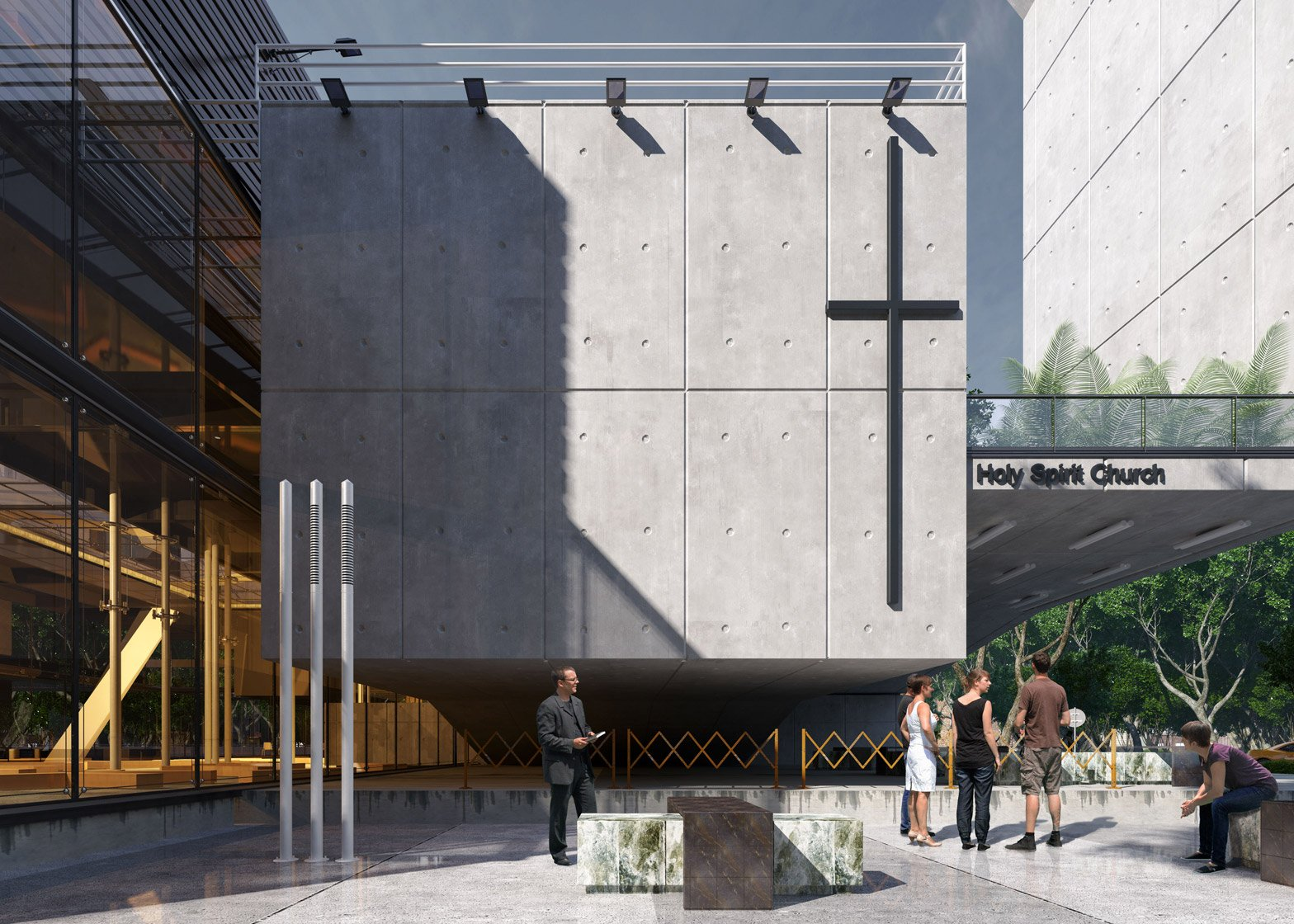 Church of Holy Spirit by Urban Office Architecture