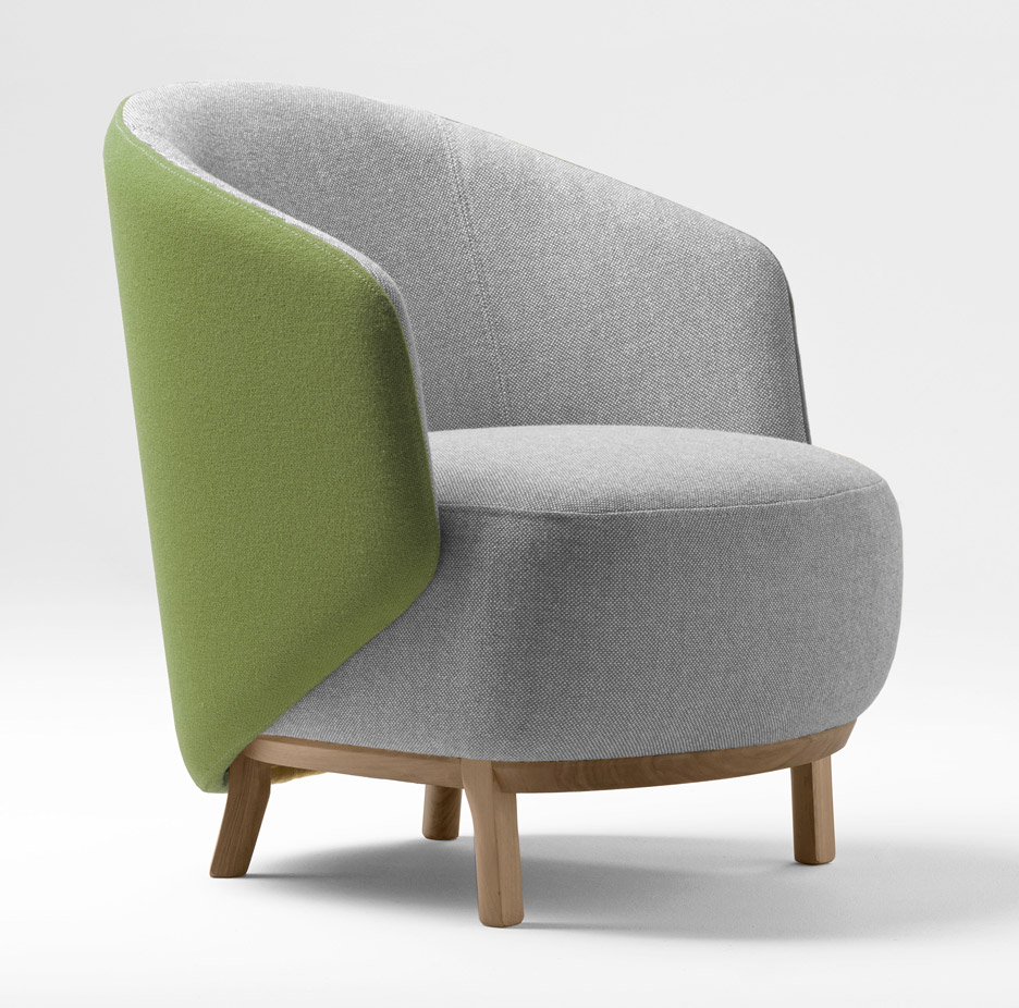 Concha armchair by Samuel Accoceberry