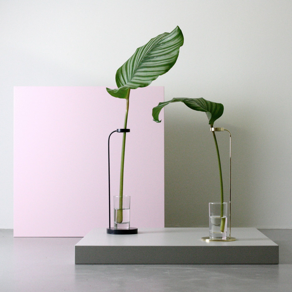 Dubokk adds minimal vases and tinted glass tables to homeware collection