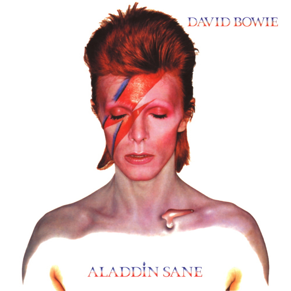David Bowie Aladdin Sane album cove