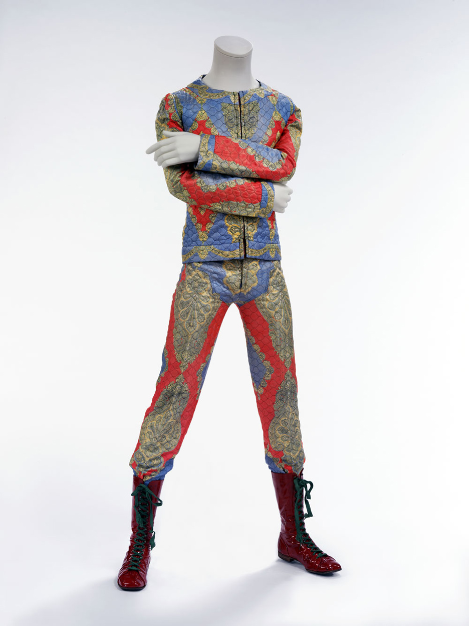 David Bowie's Starman costume