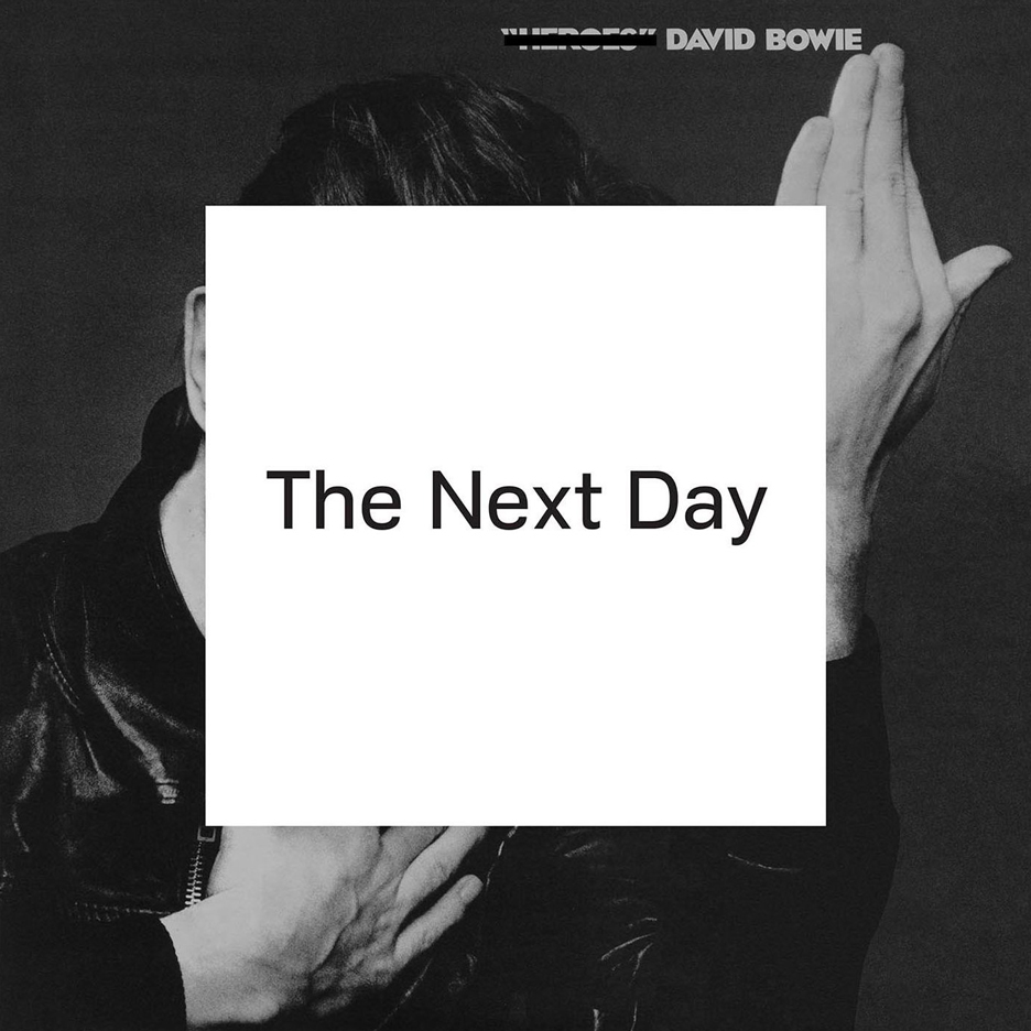 David Bowie The Next Day album cover by Barnbrook