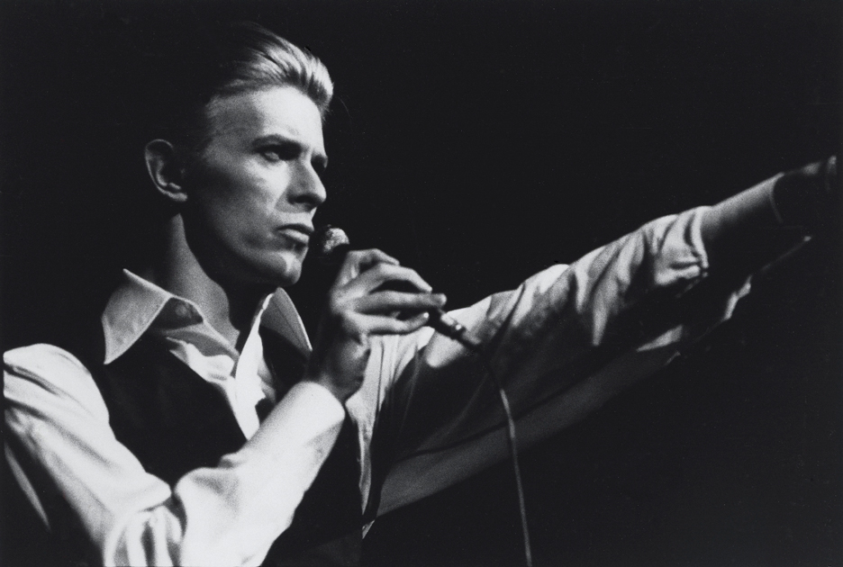 David Bowie as Thin White Duke