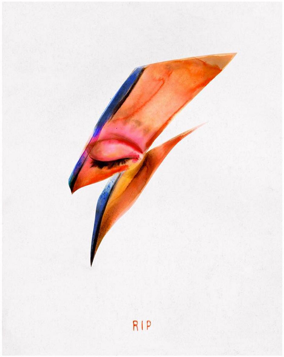 David Bowie illustration by Von