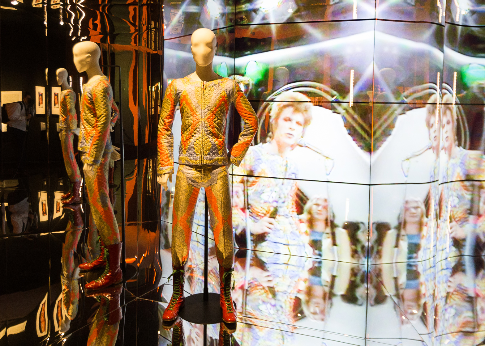 David Bowie Is... on show at the Groninger Museum. Photo by Gerhard Taatgen