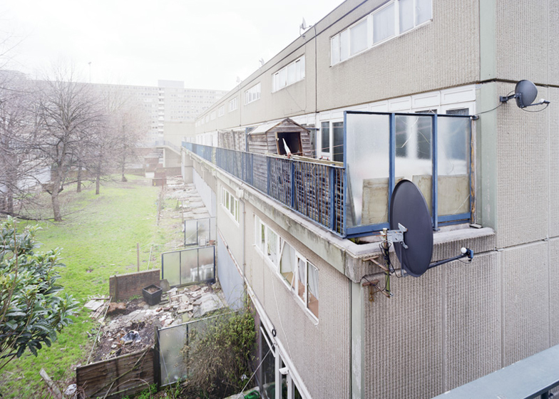 The deserted Heygate housing estate in south London prior to demolition. Photograph by Simon Kennedy
