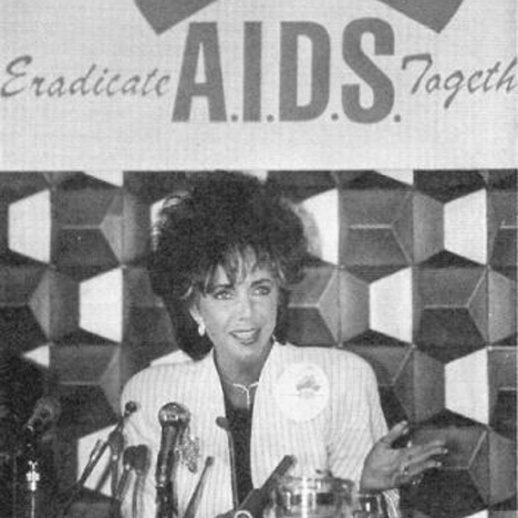 Elizabeth Taylor AIDS fundraiser_dezeen_sq