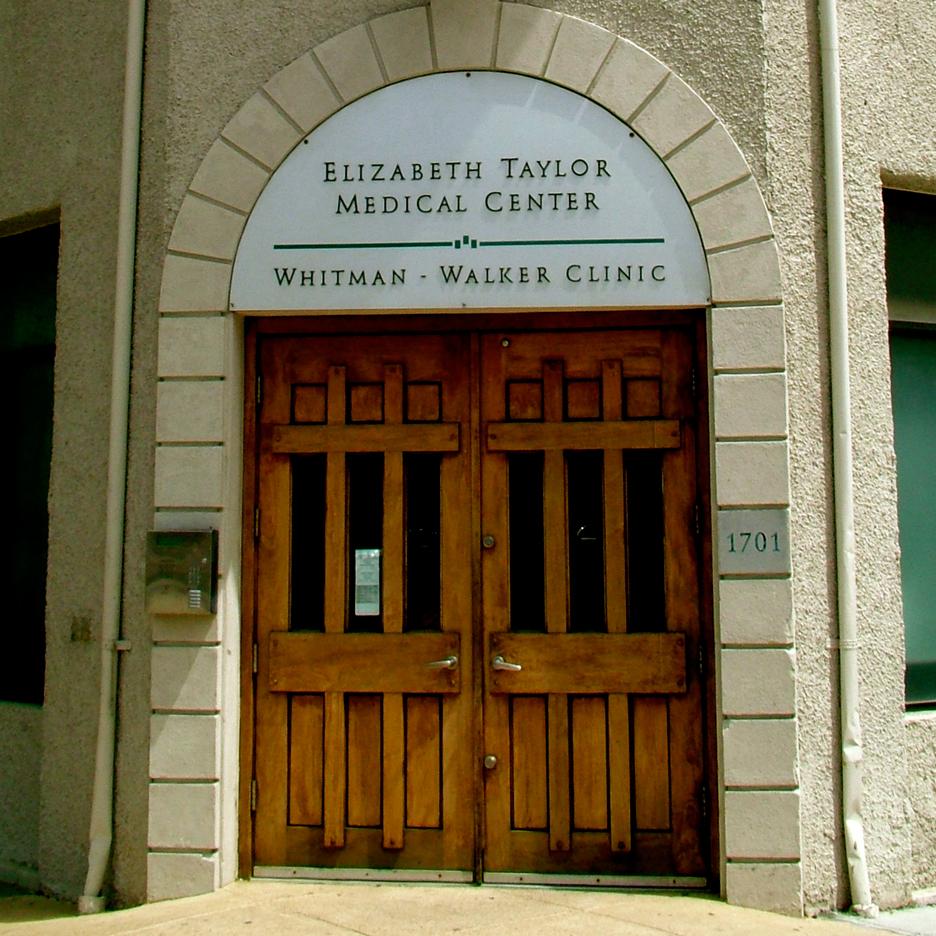 The Elizabeth Taylor Medical Center, Whitman-Walker Clinic