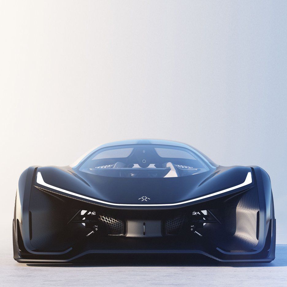 Faraday Future unveils FFZero1 modular all-electric supercar concept