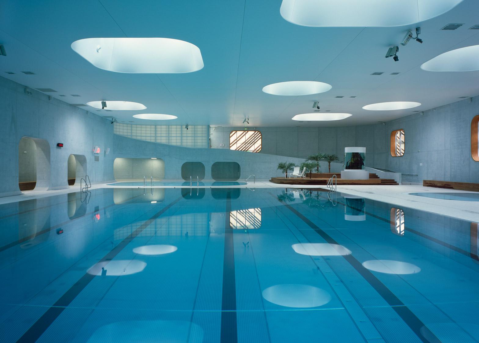 Mikou Studio bases Paris swimming pool on Feng Shui philosophy - Laurence Dujardin