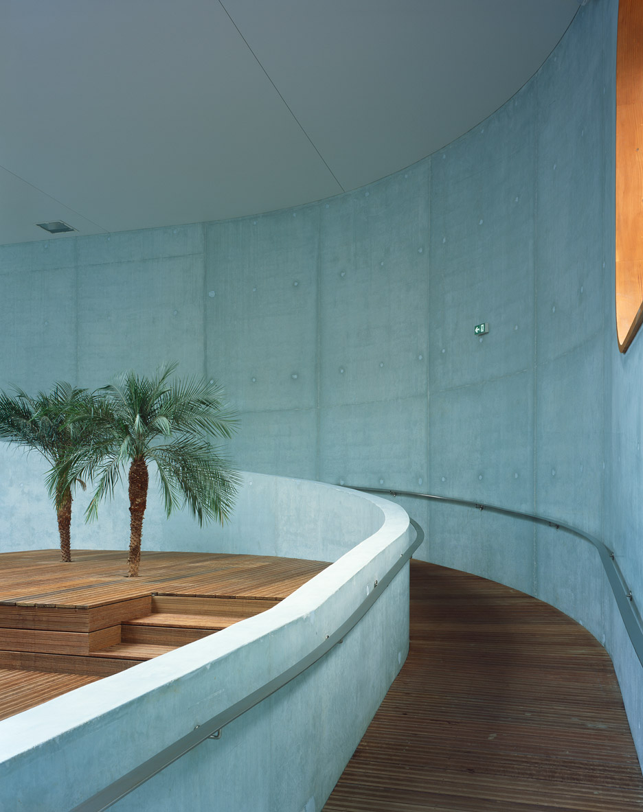 Mikou Studio Bases Paris Swimming Pool On Feng Shui Philosophy