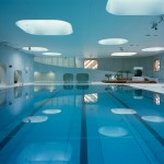 Mikou Studio completes Paris swimming pool designed using Feng Shui philosophy