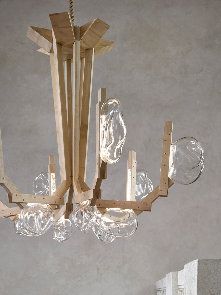 Beautiful Fungo Chandelier by Campana Brothers