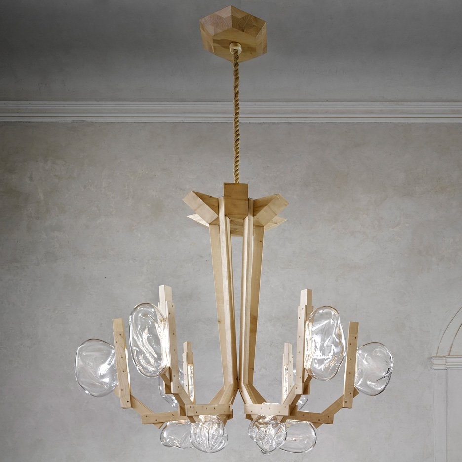 Fungo Chandelier By Campana Brothers