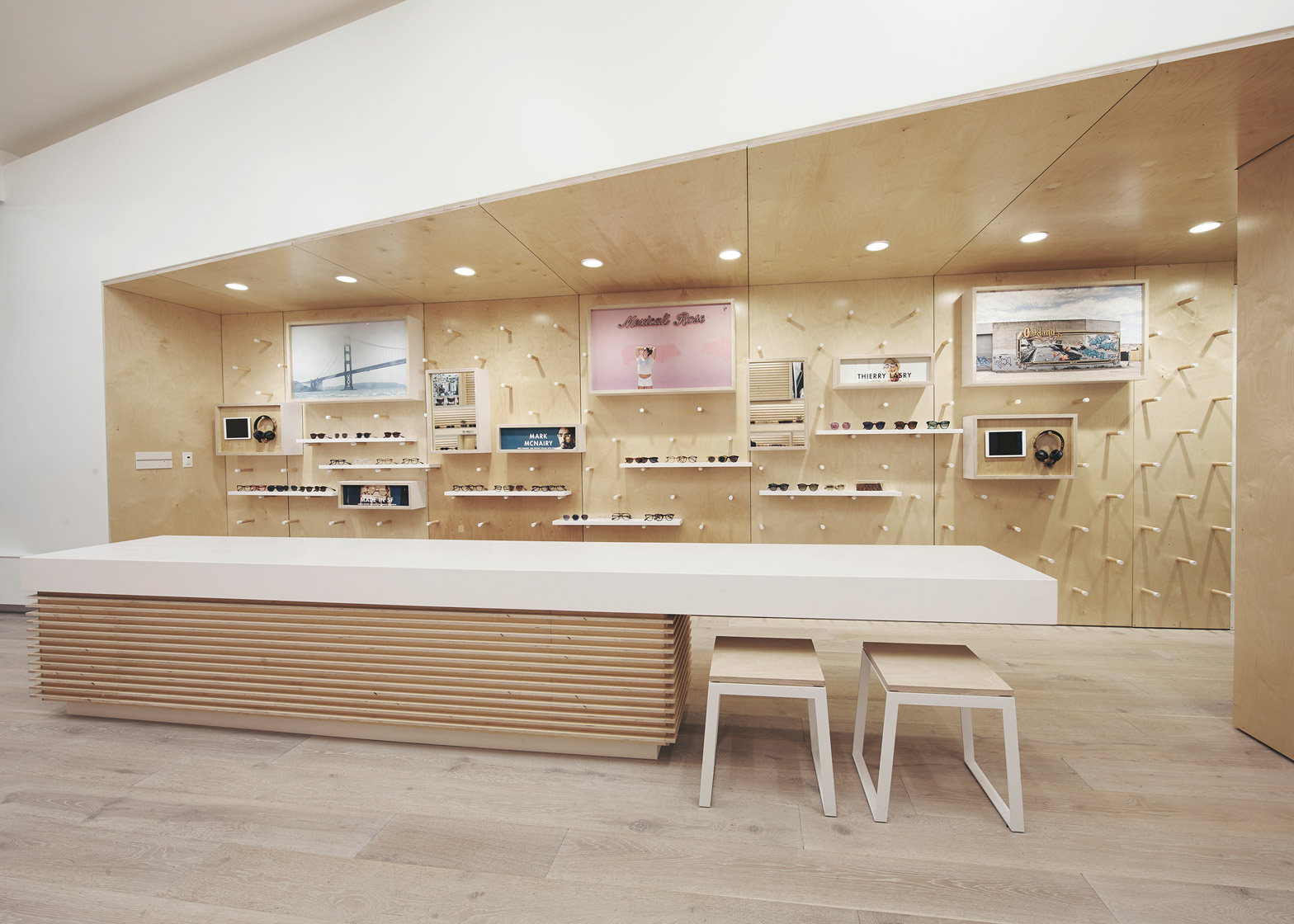 Designer Eyeglass Frames San Francisco : West of West infuses an eyewear store with a California vibe