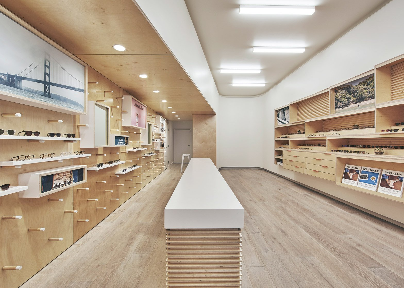 Garrett Leight eyewear store by West of West