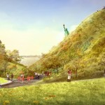 The Hills by West 8 opening this summer on New York's Governors Island