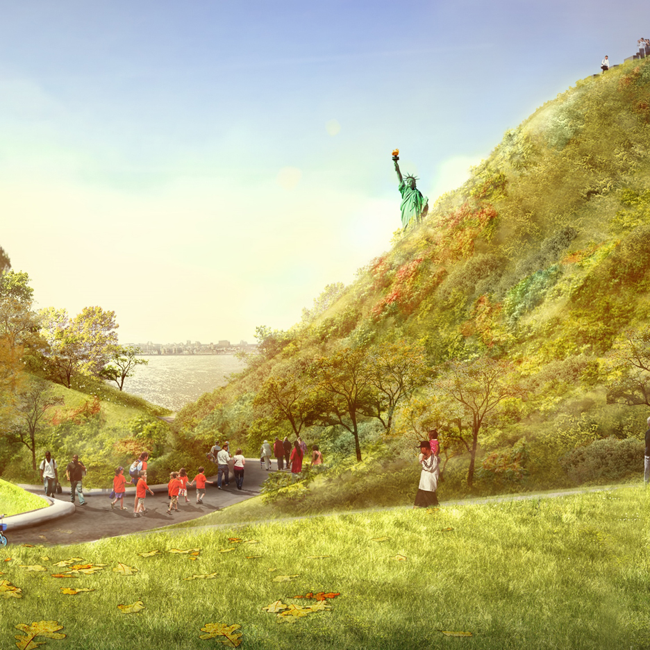 The Hills by West 8 opening summer 2016 on New York's Governors Island