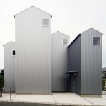 Four gabled towers form House in Kosai by Shuhei Goto Architects
