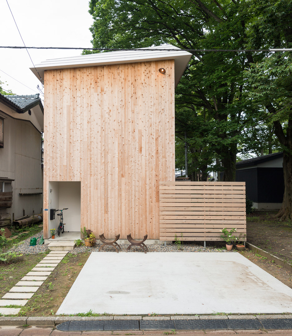 House to catch the tree by Takeru Shoji Architects
