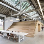 Bedaux de Brouwer transforms Dutch railway warehouse into multi-level office