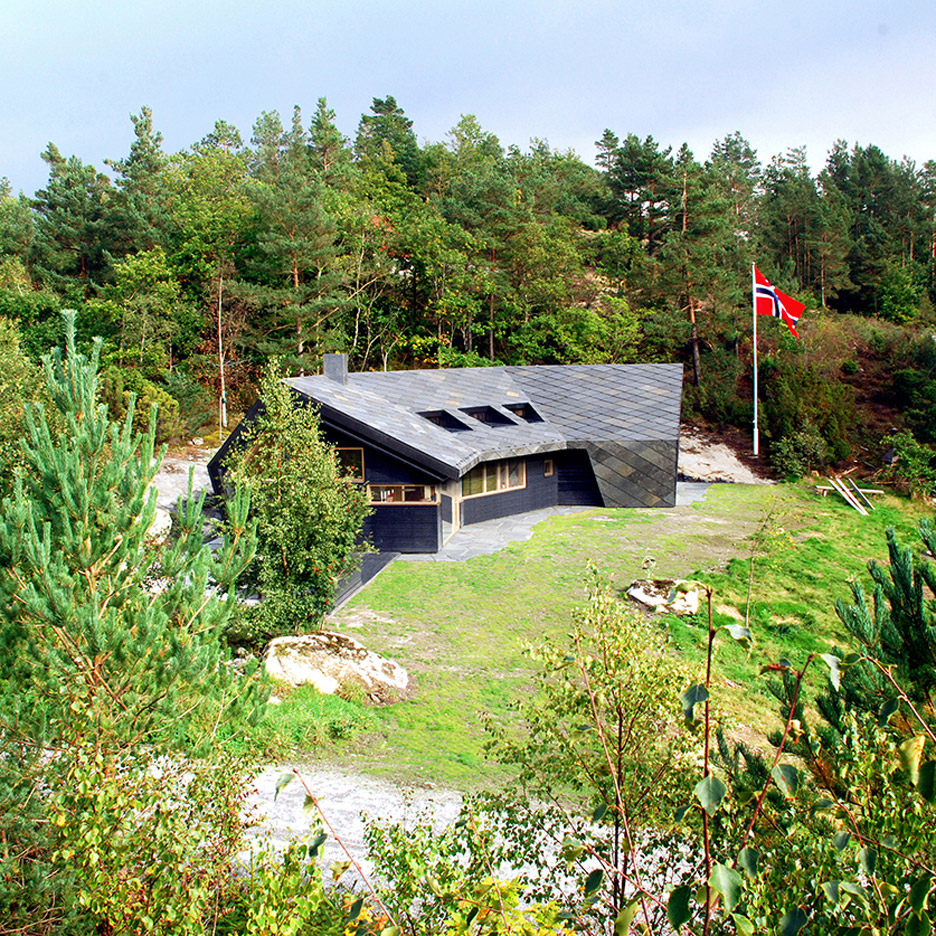 Hytte i Ryfylket Cabin in Norway by Pir II and Resell Arkitektur