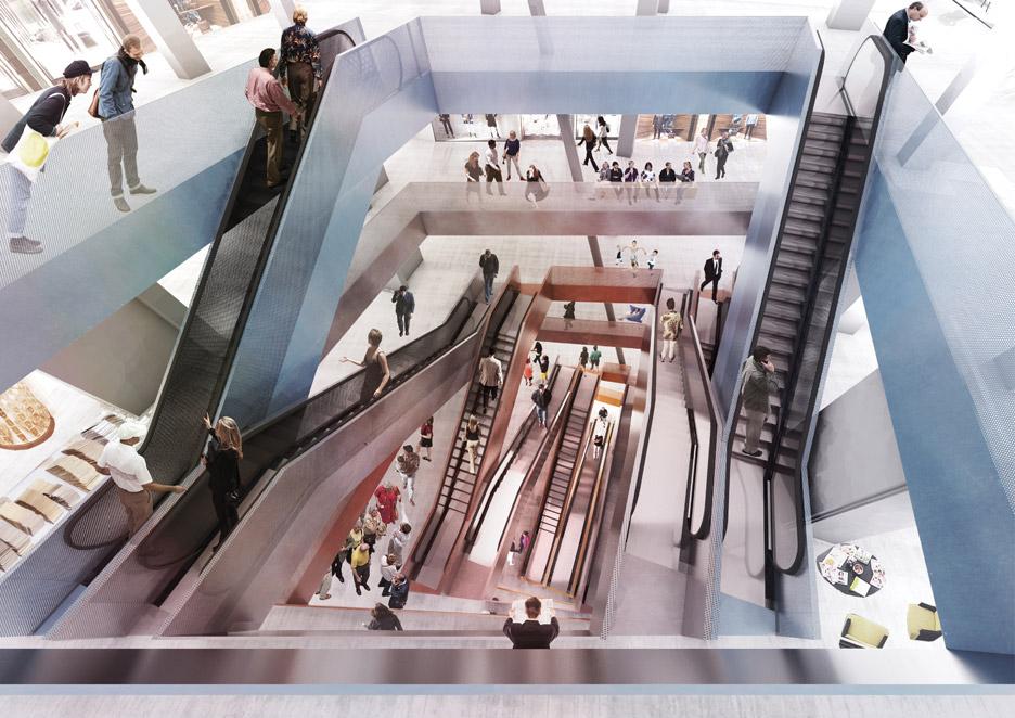 3novices oma unveils major renovation plans for berlin s. Black Bedroom Furniture Sets. Home Design Ideas