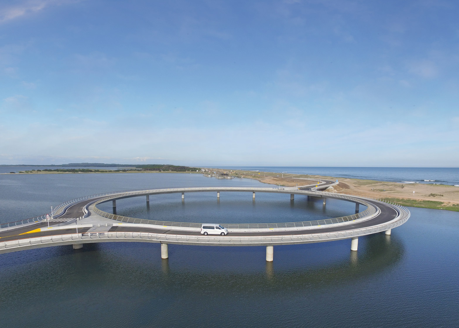 Laguna Garzon Bridge by Rafael Vinoly