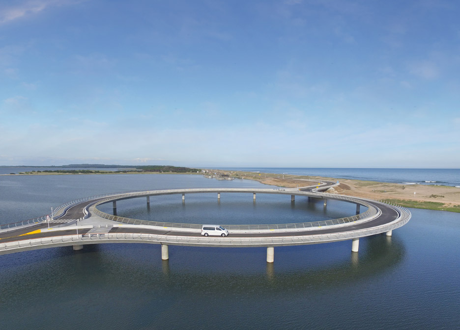 Laguna Garzon Bridge by Rafael Vinoly
