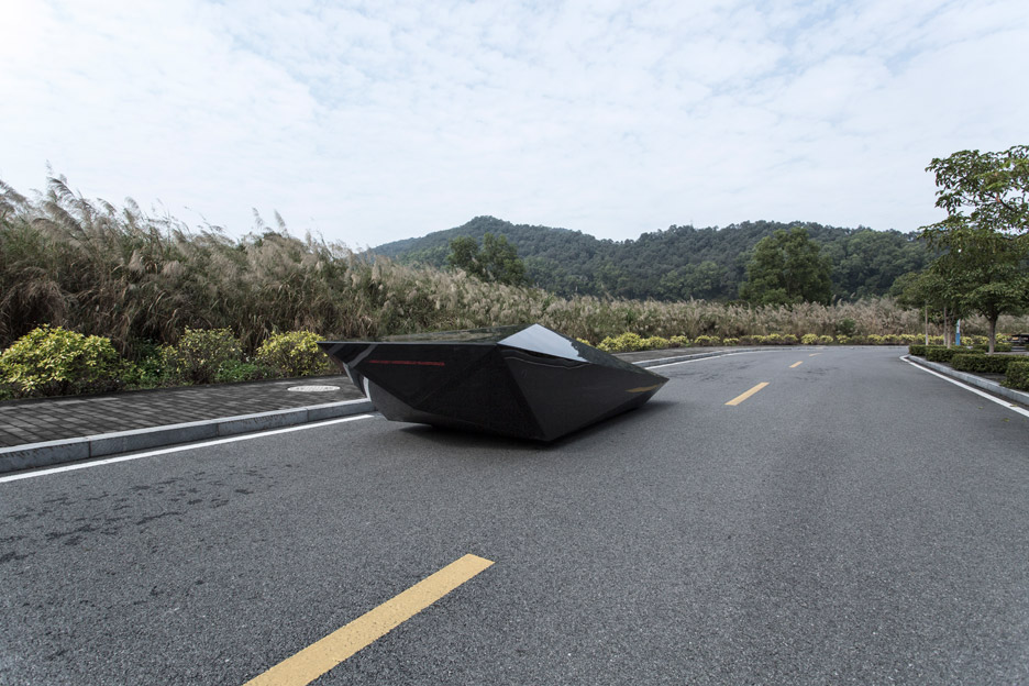 Lo Res car concept by United Nude for Lamborghini
